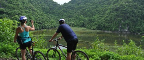 Cycling Cat Ba Island