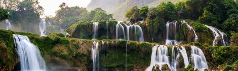 Ban Gioc Waterfalls-Vietnam