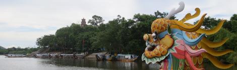 Hue Dragon Boat trip